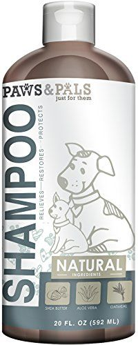 cat shampoo antifungal - Paws & Pals Natural Oatmeal Dog-Shampoo And Conditioner - Medicated Clinical Vet Formula Wash For All Pets Puppy & Cats - Made with Aloe Vera for Relieving Dry Itchy Skin * Read more at the image link. (This is an affiliate link) Best Shampoo At Walmart, Best Dog Shampoo, Natural Dog Shampoo, Cat Shampoo, Shampoo Bar, Shampoo Brush, Pet Puppy, Dog Cat, Pet Dogs