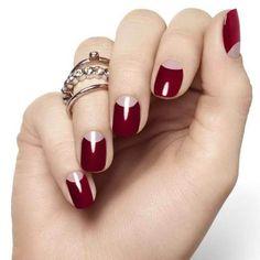 Uñas rojas elegantes - Elegant red nails