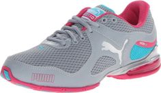 PUMA Women's Cell Riaze Cross-Training  Shoe,Breathable mesh and bonded synthetic upper. Cushioned midsole for optimum comfort, plus additional cushioning unit at the heel . #bestrunningshoesforwomen