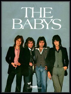 1977 Full Color The Babys - isn't it time? Much Music, 70s Music, Film Music Books, Music Love, Music Albums, John Waite, Legend Music, Rock Album Covers, Thanks For The Memories