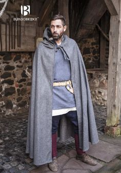 Gris foncé robe//pagan//jedi//wizard//larp//halloween//déguisement//gandalf