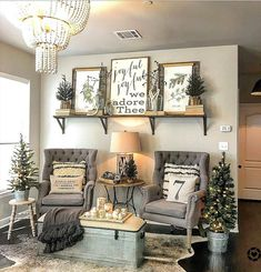 farmhouse decor diy are offered on our site. Check it out and you wont be sorry you did. Home Living Room, Living Room Designs, Living Room Decor, Rustic Decor, Farmhouse Decor, Modern Farmhouse, Farmhouse Style, Antique Farmhouse, Country Style Homes