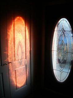 Decorative window actually Eye of Sauron in disguise.