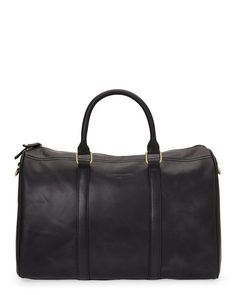 """Check out """"Black Bon Voyage Weekend Duffel"""" from Century 21"""