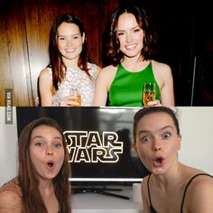 People, she has a sister...