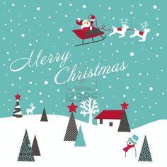 レトロなクリスマス カード ストックフォト - 10796730