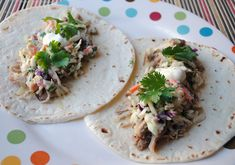 So, How's It Taste? » Slow Cooker Pork Tacos with Spicy Citrus Slaw