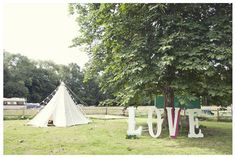 All you need is LOVE at Ridge Farm! These giant letters say it all.