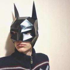 Batman mask Paper Helmet Printable