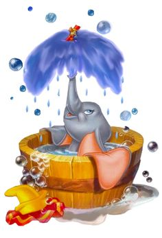 Dumbo is my favorite disney charcter Walt Disney, Disney Pixar, Cute Disney, Disney Animation, Disney Art, Disney Characters, Dumbo Disney, Disney Magie, Baby Dumbo