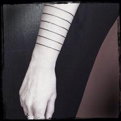 Minimalist Geometric Tattoo