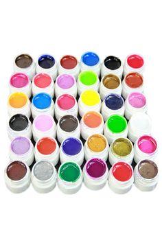 ROMWE | 36 Colors Nail UV GEL Extension, The Latest Street Fashion   http://www.planetgoldilocks.com/womens_clothing.htm #freeShipping Worldwde #fashions #womensFashions