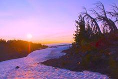 Daybreak at Camp Lake