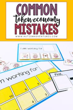 Using a token economy at home or in the classroom can be an effect learning strategy! But, are you making these common mistakes with yours? Click the pin to check out these mistakes and how to avoid them! Behavior Rewards, Student Behavior, Behavior Management, Classroom Management, Classroom Reward System, Classroom Routines, Token System, Emotional Disturbance, Token Economy