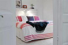 Decoração colorida e animada - Ler, Dormir, Comer...