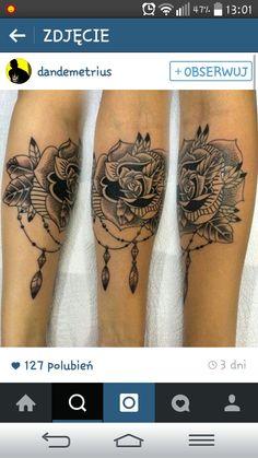 Rose róża tatuaż tattoo