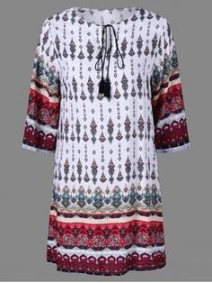 GET $50 NOW | Join RoseGal: Get YOUR $50 NOW!http://www.rosegal.com/print-dresses/ethnic-print-peasant-dress-861002.html?seid=6393197rg861002