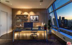 Grammy Museum, Los Angeles Skyline, City Office, Rooftop Pool, Custom Design, Lounge, The Unit, Bedroom, Interior