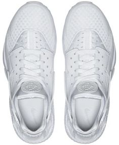 Nike Men's Air Huarache Run Running Sneakers from Finish Line - White 11.5