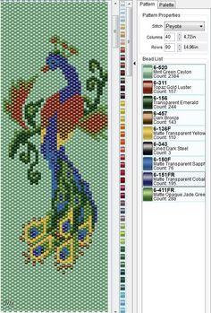 Peyote Beading Patterns, Loom Bracelet Patterns, Peyote Stitch Patterns, Seed Bead Patterns, Bead Loom Bracelets, Loom Beading, Seed Bead Flowers, Motifs Perler, Beaded Banners