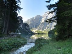 From my trip to the Italian Dolomites - Lago di Braies, Italy [OC] [4000x3000]