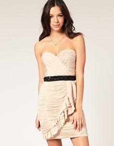Lipsy Vip Ruched dress