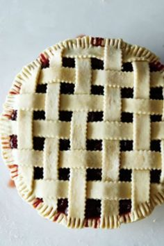 How To Make The Perfect Lattice-Top Crust For Any Pie