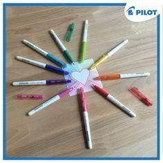 Frixion Color ako jedinečné fixy s vláknovým hrotom a termosenzitívnym atramentom <3