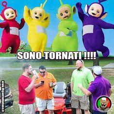 Chi se li ricorda? http://www.vignetteitaliane.it #vignette #immagini #divertenti #italiano #lol #funny #pictures #italian #teletubbies #adulti