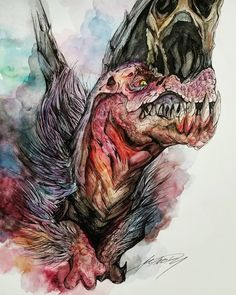 T-Rex of monster hunter Monster Hunter 3rd, Monster Hunter Series, Godzilla, Fantasy Weapons, Dragon Art, Fantastic Art, Pretty Art, Creature Design, T Rex