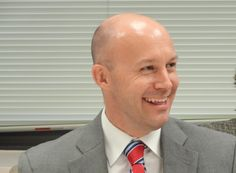 New Montgomery County Economic Development Council CEO David Petr answers a…