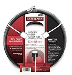 Craftsman 50 Foot x 5/8-Inch Rubber Garden Hose Review | ElectroSawHQ.com