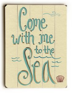 Beach Cottage Decor, Coastal Decor, Coastal Style, Beachy Signs, I Need Vitamin Sea, Boat Names, New Wall, Wall Décor, House Wall