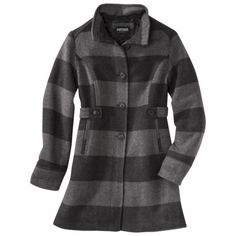 Coats & Jackets for Women : Target Plaid Coat, Wool Coat, Coats For Women, Jackets For Women, Cute Coats, Women's Coats, Target Style, Altering Clothes, Retro Look