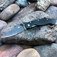 Spyderco Military Knife.JPG