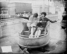 Vintage amusement ride