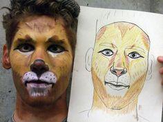 Lion Makeup 1