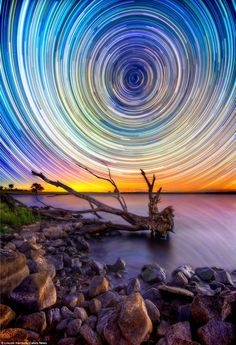 WOW: Swirly Sky Photos From Australian Outback