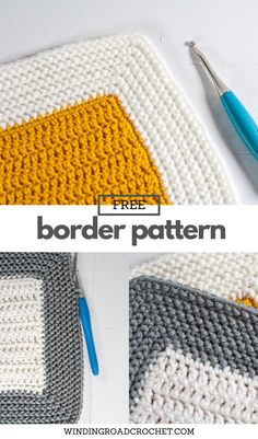 Learn to crochet this beautiful herringbone crochet border that works with any blanket. Free crochet pattern and video tutorial.