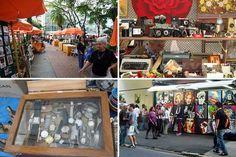 Feira da praça Benedito Calixto | Antiguidades, arte, artesanato -- você encontra na Benedito! Praça Benedito Calixto, Pinheiros, São Paulo, SP, Brasil