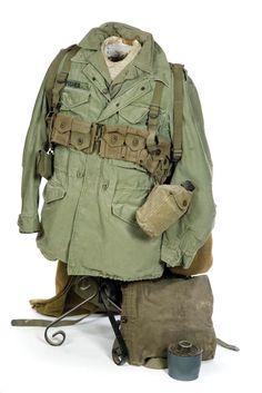 Uniform; Korean War, US Army, Field, Jacket & Shirt, Pack, Accessories.