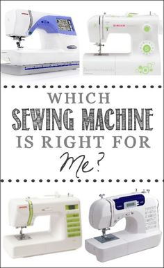 Which Sewing Machine