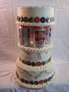 hillbilly wedding cake - Google Search