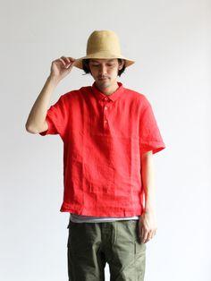 maillot Linen Shirt Polo Tee (リネンシャツポロTee) MAS-15220