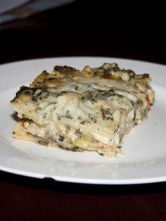 White Vegetable Lasagna from Bakerlady