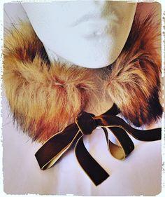 Sieg Hilde: Col de Fourrure et rubans de velours : cousu main #fourrure #ruban #velours #col#faitmain #faitmaison #handmade#handcraft #couture #tissu #baroque#fashion #look #green #fur #pelt #style#bestoftheday #faussefourrure #sieghilde#sieg #france #strasbourg#atelierdescigognes #patron#patroncouture #beauty #diy fourrure ruban velours col faitmain faitmaison handmade handcraft couture tissu baroque fashion look green fur pelt style bestoftheday faussefourrure sieghilde sieg france