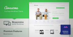 Download and review of Awesome - One Page Business Portfolio WordPress Theme, one of the best Themeforest Corporative themes {Download & review at|Review and download at} {|-> }http://best-wordpress-theme.net/awesome-one-page-business-portfolio-download-review/