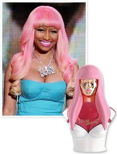 "Nicki Minaj says her new perfume ""smells like angels playing...""  I guess that's good."