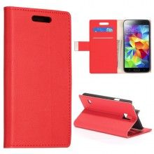 Funda Book Samsung Galaxy S5 Simple Magnetica Roja  € 9,99