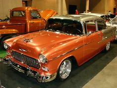 1955 Chevy Restomod by Rev Rods 1955 Chevy, 1955 Chevrolet, Chevrolet Bel Air, Chevrolet Impala, Chevrolet Trucks, Vintage Cars, Antique Cars, Chevy Muscle Cars, Gm Car